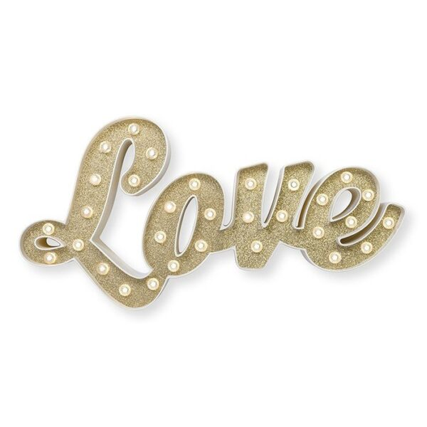 Marquee Word - HS - Size 20 Inch - Love