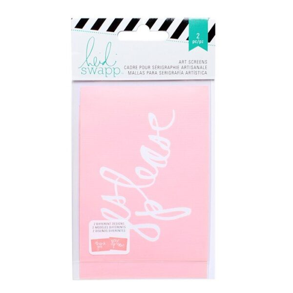 Stencil Packs 3x4 - HS - Mixed Media - Yes Please