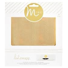 Accessories - HS - MINC - Glitter Foil Sheets - 6 x 6 - Gold (4 Piece)