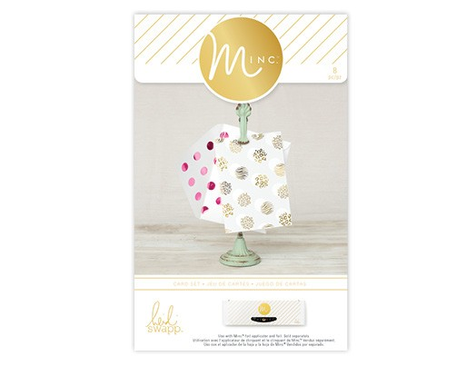 Cards & Tags - HS - M*INC - Card Set - Animal Prints