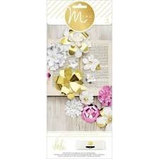 Decor - HS - M*INC - 3D Flowers