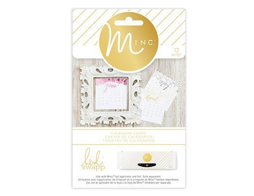 Decor - HS - M*INC - Calendar Cards