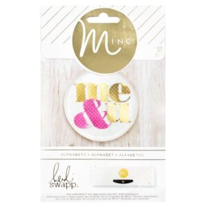 Embellishments - HS - M*INC - Alphabets - Polka Dot
