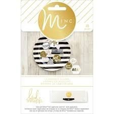 Embellishments - HS - M*INC - Chipboard Shapes