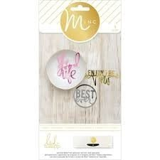 Embellishments - HS - M*INC - Die Cuts - Phrases