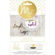 Embellishments - HS - M*INC - Die Cuts - Words