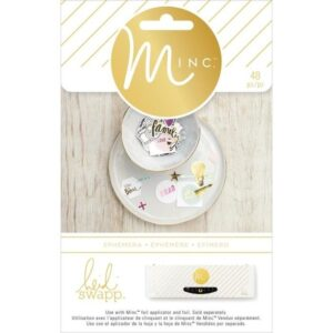 Embellishments - HS - M*INC - Ephemera