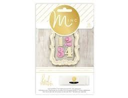 Embellishments - HS - M*INC - Jumbo Numbers
