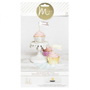 Party - HS - M*INC - Cupcake Wraps & Toppers