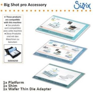 Sizzix Big Shot Pro Accessory - Solo Platform, Shim & Wafer Thin Die Adapter