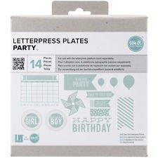 LC Letterpress Plate Party