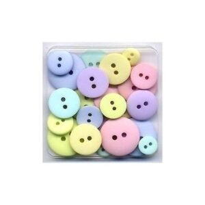 Buttons pastel assortment Doodlebug