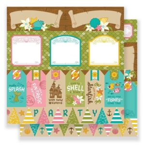 Papel para scrapbbooking Imaginisce PMH - Shell-A-Brate