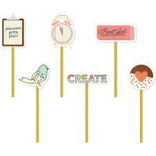 The Reset Girl Decorative Clips - P