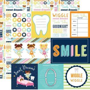 Papel para scrapbooking Echo Park Journaling Cards Mini Themes - P