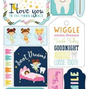 Sticker 6X13 - Tooth Fairy - P