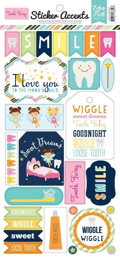 Sticker 6X13 - Tooth Fairy - P