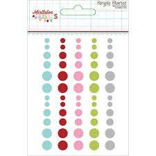 Enamel Dots - Mistletoe Kisses - P
