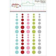 Enamel Dots - Mistletoe Kisses - P
