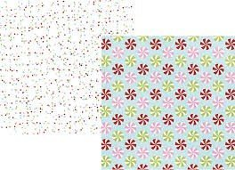 Papel para scrapbooking Simple Stories Holly Jolly - P