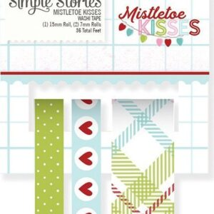 Washi Tape - Mistletoe Kisses