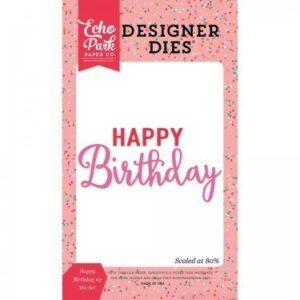 Die Set - Happy Birthday 2 - P