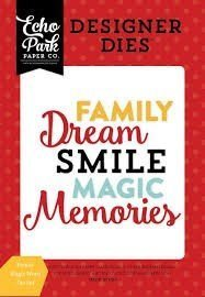Die Set - Family Magic Word - P