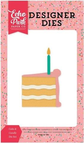 Die Set - Cake & Candle - P