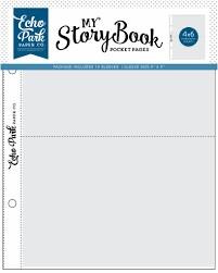 Pocket Page 6x8 -4X6 Pockets (10 sheet packs)