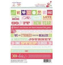 Word 4x6 sticker - New Year New You - P