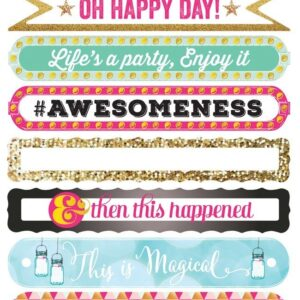 Happy Sentiment 4x6 sticker - P