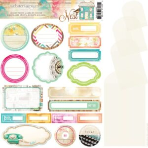 Nest Memory Pockets & Labels - P