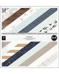 Paper Pads - WR - Typecast - 12 x 12 - Mint