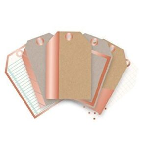 Mini Tags - WR - Typecast - Copper Foil