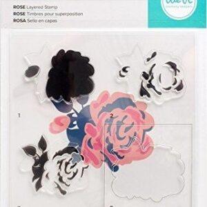 Stamp Set - WR - Layered Stamp - Rose