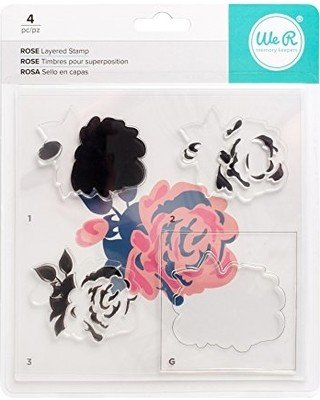 Stamp Set - WR - Layered Stamp - Rose