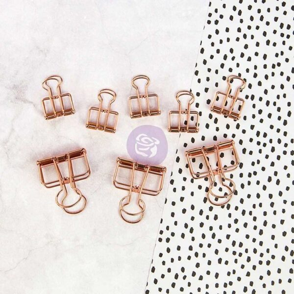 My Prima Planner Embellishments - Mini Binder Clips