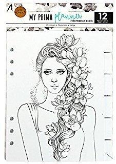 My Prima Planner Embellishments - Prima Princesses Dividers