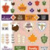 JN Planner Stickers-November