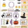 JN Planner Stickers-October