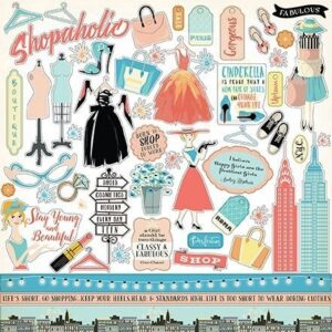 Metropolitan Girl Sticker Sheet - P