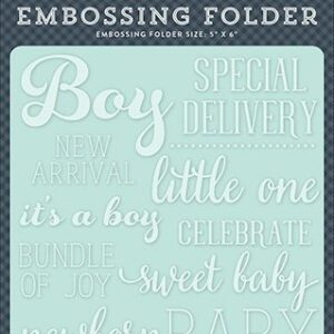 Embossing Folder -Little One Boy - P