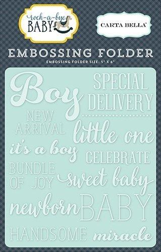 Embossing Folder -Little One Boy - P