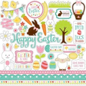 Celebrate Easter Element Sticker - P