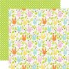 Papel para scrapbooking Echo Park Field of Cottontails – P