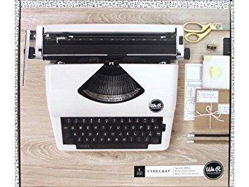 Typewriter - WR - Typecast - White