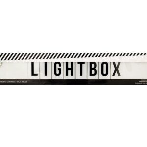 Lightbox Shelf - HS - Lightbox - White - P