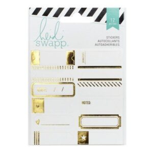 Accessories - HS - MemoryDex - Gold Foil - Label Stickers - P