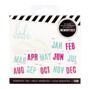 Kits - HS - MemoryDex - Tabs - Calendar - P
