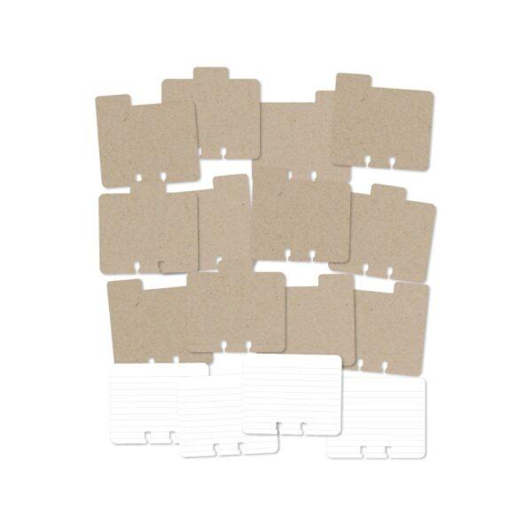 Kits - HS - MemoryDex - Tabs - Kraft - P